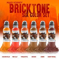 WF Maks Kornev's Brick Tone Color Set